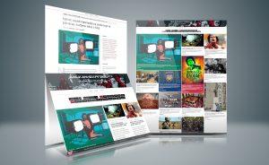 Balkan-express.org news application and illustrations