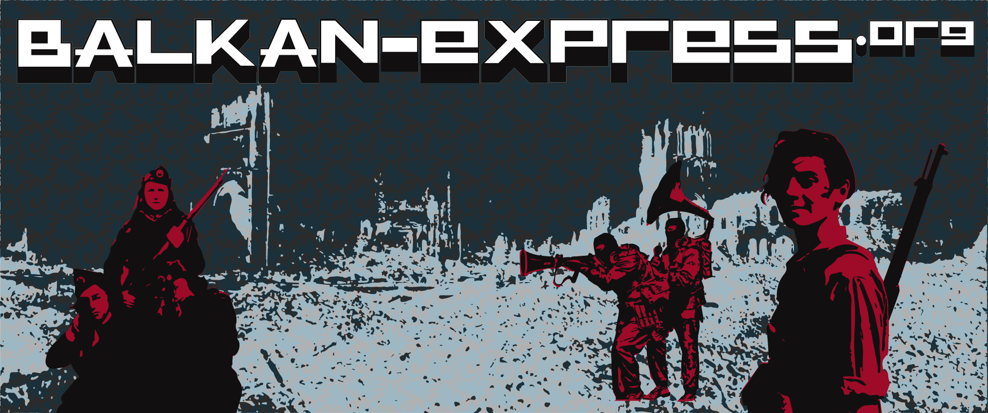 Balkan-express.org news application and illustrations