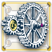 Steampunk Mechanical Gears theme