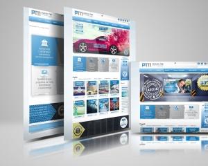 Parking Tim - multilanguage website and graphic design