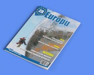 'za EUROPU' - magazine layout (from archive)
