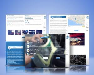 Center Car Wash - Web&graphic design