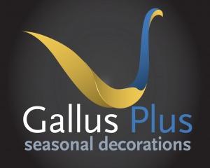 Gallus Plus seasonal decorations - logo design