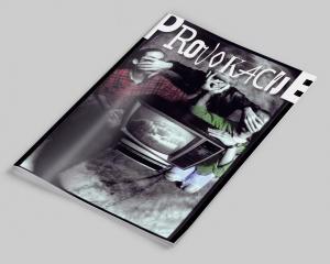 PROVOKACIJE - Magazine layout + graphic design